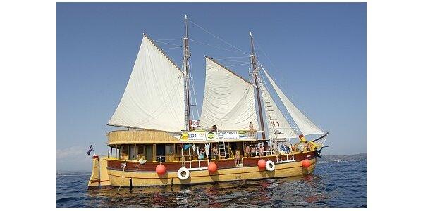 9490 Kč za plavbu historickou jachtou Silva po Jadranu - v plné sezoně