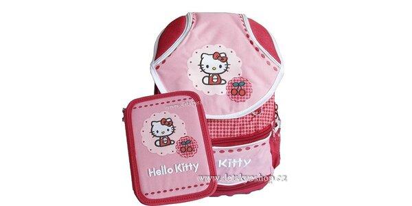 749 Kč za školní batoh a penál Hello Kitty v původní hodnotě 1099 Kč