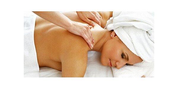 150 Kč za hodinovou masáž zad a dolních končetin pro ženy v hodnotě 300 Kč