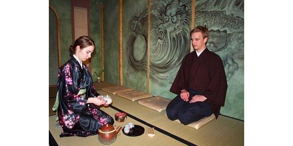 290 Kč za nevšední japonský čajový balíček pro 2 osoby v hodnotě 480 Kč