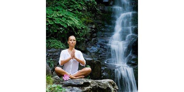 70 Kč za lekci jógy v původní hodnotě 170 Kč