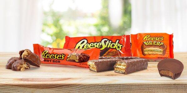 Pro mlsouny: čokolády Reese's s arašídovým máslem