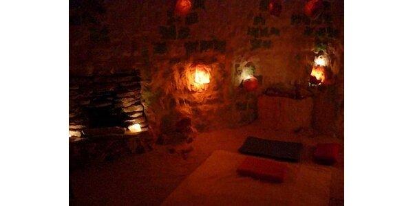550 Kč za permanentku do Solné jeskyně - 10x vstup + 1x masáž šíje zdarma