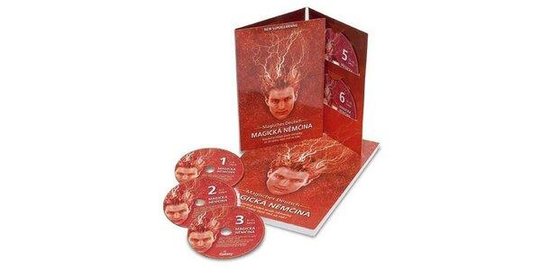 2450 Kč za kolekci Magické němčiny 6 CD a učebnice v hodnotě 3450 Kč