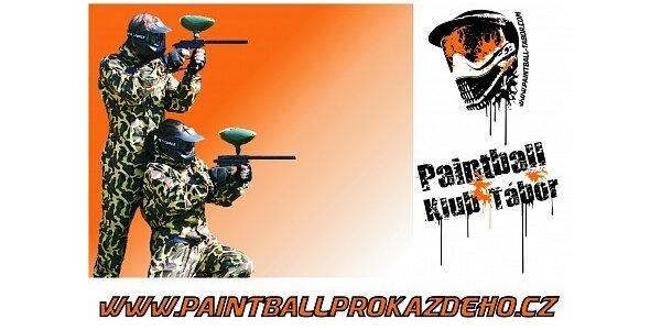 Jen 190 Kč za adrenalinovou hru paintball pro 1 osobu v hodnotě 400 Kč