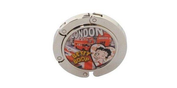 Háček na kabelku Betty Boop v původní hodnotě 208 Kč