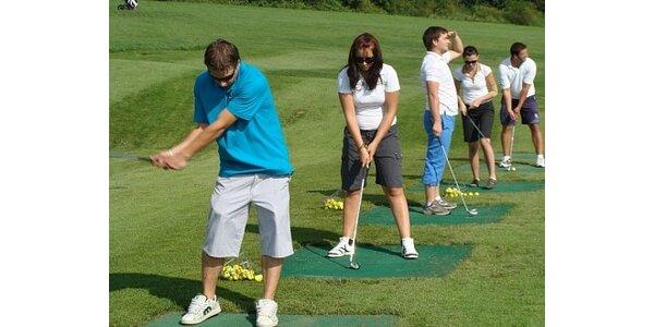 490 Kč za jednodenní jedinečný kurz základů golfu v hodnotě 4000 Kč