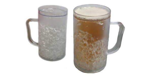 169 Kč za 2 chladící půllitry - nápoje vždy vychlazené v hodnotě 338 Kč