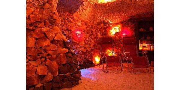 315 Kč za dvě hodiny pohody - solná jeskyně, masáž a infrasauna