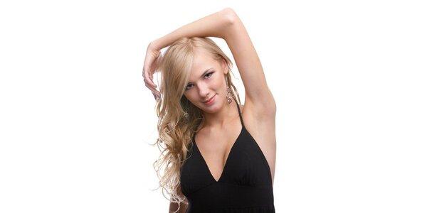 450 Kč za světlý melír na dlouhé vlasy s celkovou úpravou v hodnotě 810 Kč