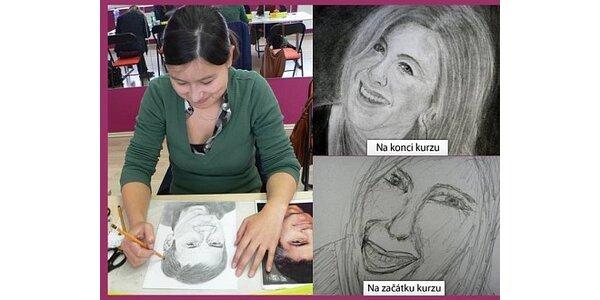 Za 1250 Kč se staňte portrétistou za víkend - kurz v hodnotě 2500 Kč