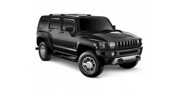 2399 Kč za zapůjčení Hummeru H3 na celé skvělé 2 dny v hodnotě 7500 Kč