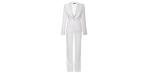 Dámské bílý kalhotový kostýmek Liu.Jo