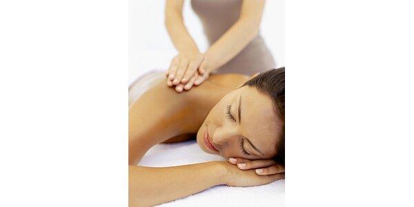385 Kč za 90minutovou celkovou relaxační masáž v hodnotě 550 Kč