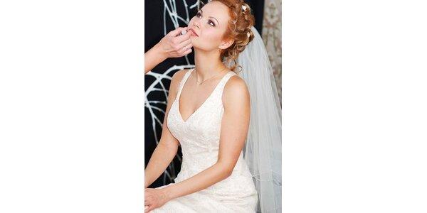 750 Kč za svatební líčení u klientky v původní hodnotě 1200 Kč