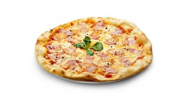 129 Kč za dovoz 2 ks pizzy Prosciutto, kdekoli v Ostravě až k Vám na stůl