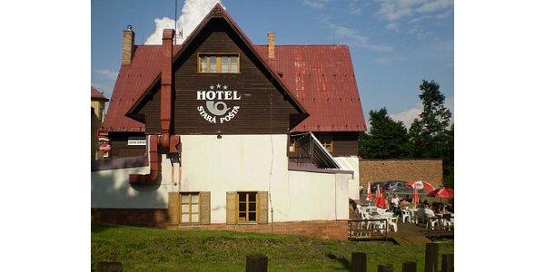 1300 Kč za pobyt pro 2 os. na 2 noci v hotelu s polopenzí v hodnotě 2080 Kč