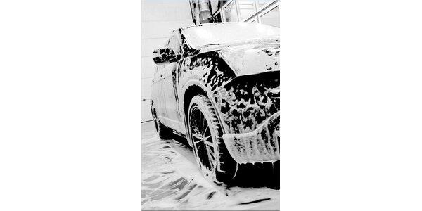 295 Kč za ruční mytí aut v původní hodnotě 590 Kč