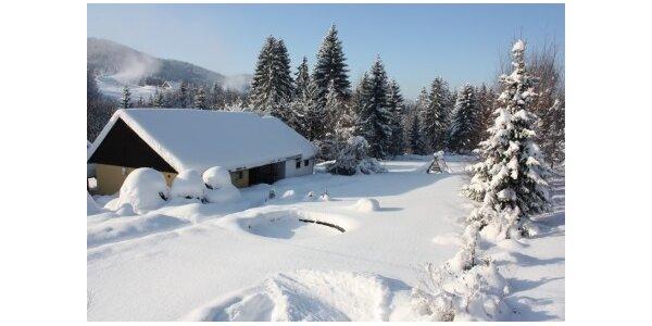 10500 Kč za týdenní zimní dovolenou - Skiareál 300m v hodnotě 15000 Kč