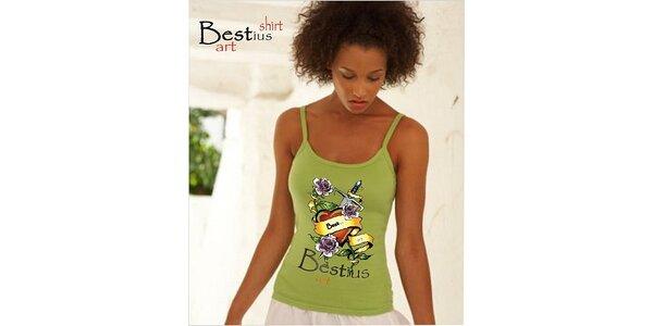 150 Kč za kupon na trička - originální potisk Bestius Art v hodnotě 300 Kč