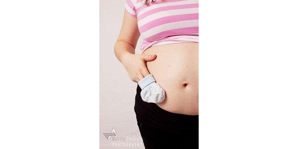 """2250 Kč za balíček """"Těhotenské foto"""" v původní hodnotě 3000 Kč"""