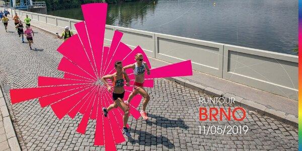 RunTour 2019: startovné na květnový běh v Brně