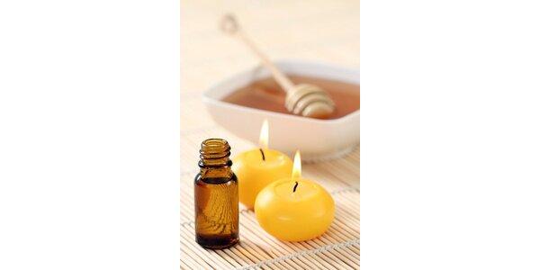245 Kč za detoxikační medovou masáž v původní hodnotě 490 Kč