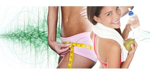 TŘI vstupy na Vibrostation acvičení Slim Belly na zkoušku