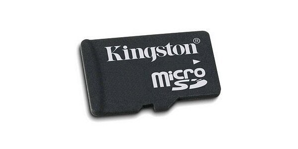 49 Kč za paměťovou kartu Kingston micro SD 2GB + adaptér v hodnotě 119 Kč