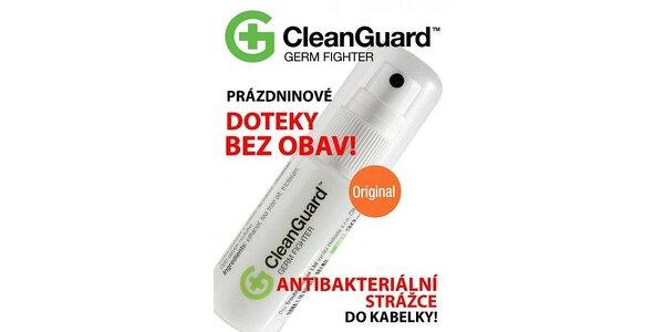 43 Kč za antibakteriální kabelkový sprej CleanGuard™ v hodnotě 109 Kč