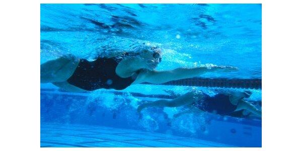 1450 Kč za 3měsíční permanentku na plavání v původní hodnotě 2200 Kč