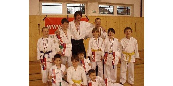 250 Kč za měsíční trénink tradičního karate v hodnotě 800 Kč