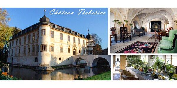 1-3 noci na zámku u Kutné Hory. Luxus i romantika pro DVA