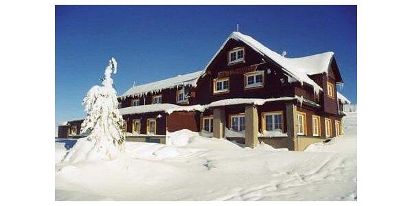 300 Kč za ubytováni v Peci pod Sněžkou 1100 m.n.m v hodnotě 450 Kč