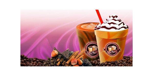 120 Kč za 5 káv dle výběru v Coffee Royale v hodnotě 210 Kč