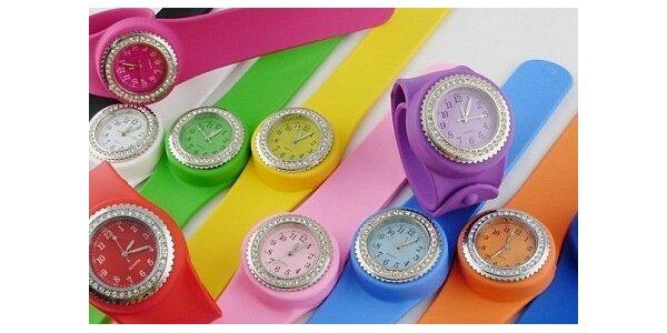 149 Kč za Silikonové hodinky Clip-Clap v hodnotě 590 Kč
