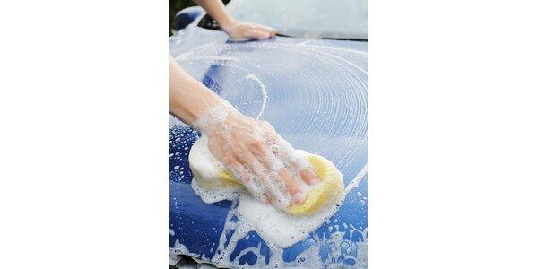 29 Kč za ruční mytí Vašeho vozu aktivní pěnou u KŠV Group v hodnotě 99 Kč