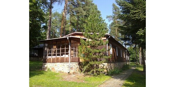 800 Kč za relaxační pobyt ve zrekonstruované chatě Vranov v hodnotě 1600 Kč