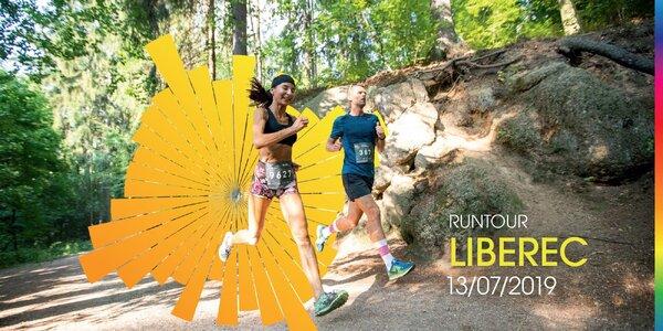 RunTour 2019: startovné na běh v Liberci