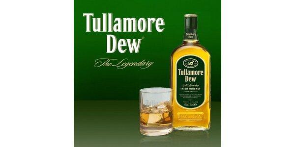 150 Kč za 4x 0,04l irské whisky Tullamore Dew v hodnotě 200 Kč