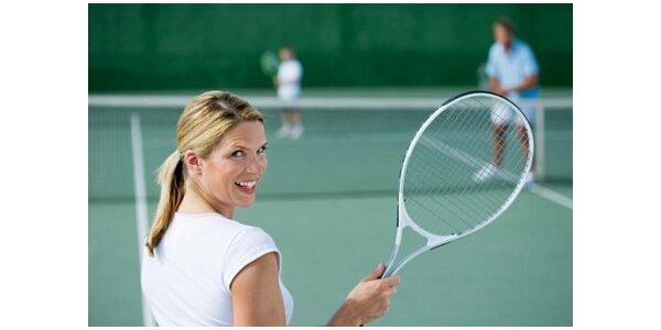 150 Kč za kurz - Tenis za 2 hodiny v původní hodnotě 300 Kč