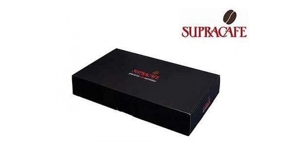 419 Kč za 4x250 g čerstvé kávy Supracafé v dárkové krabičce v ceně 559 Kč