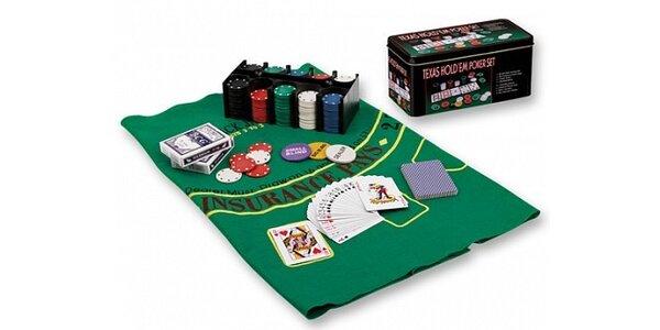 Jen 330 Kč za pokerovou sadu Texas v původní hodnotě 440 Kč