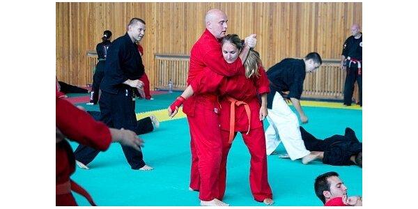 1500 Kč za sebeobrana Jiu Jitsu v původní hodnotě 2000 Kč