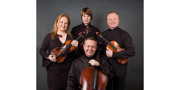 350 Kč za vstup pro 2 osoby na koncert Vlachova kvarteta v hodnotě 500 Kč