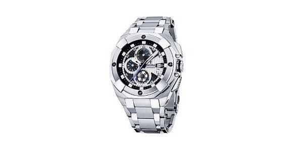 5390 Kč za hodinky Festina F16351/1 Chrono Tour 2008 v hodnotě 8290 Kč