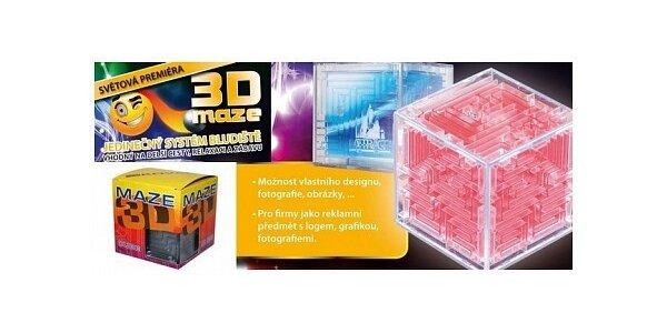 299 Kč za letošní novinku v oblasti logické zábavy - bludiště 3D Maze