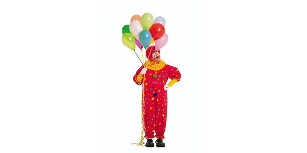 700 Kč za narozeninovou oslavu s klaunem pro Vaše děti v hodnotě 1000 Kč