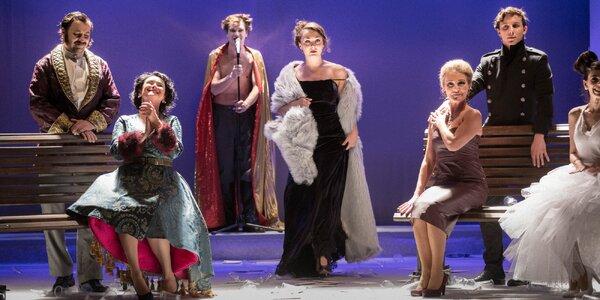Gala vstupenka do Klicperova divadla s vínem