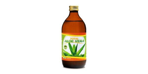 160 Kč za Aloe vera 100% BIO šťávu 500 ml v hodnotě 260 Kč